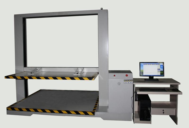 电脑伺服纸箱抗压试验机-2